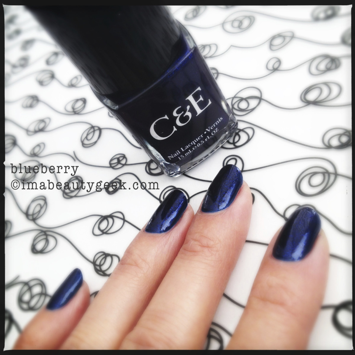 Crabtree & Evelyn Polish Blueberry