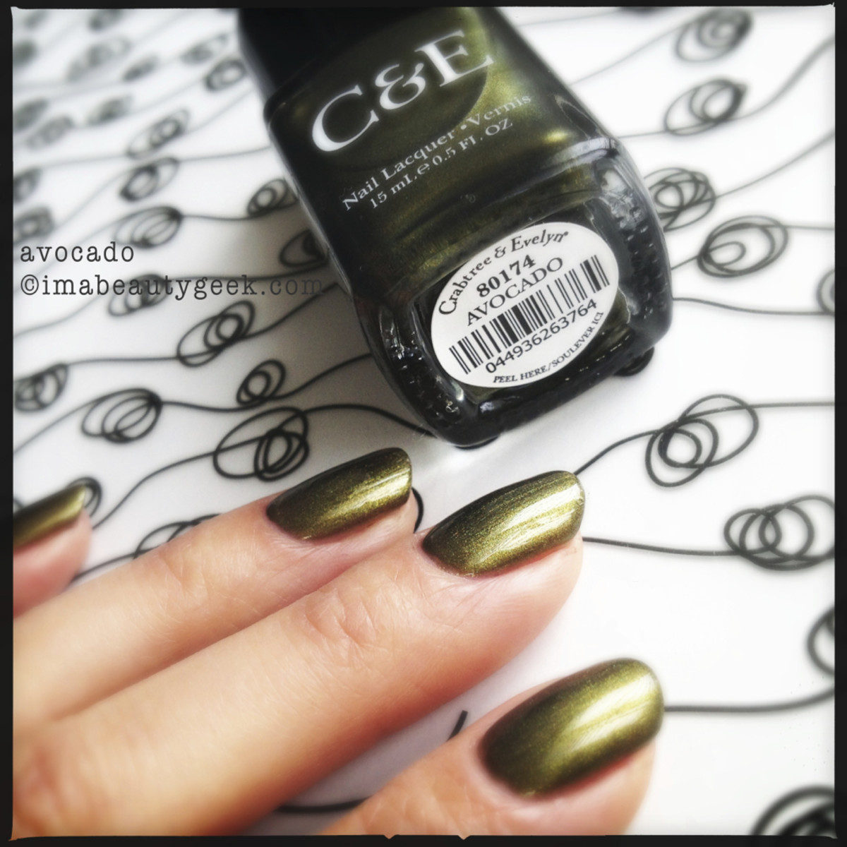 Crabtree & Evelyn Polish Avocado