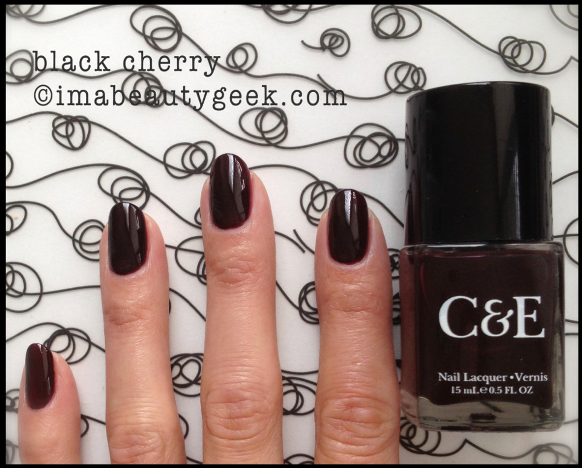 Crabtree & Evelyn Polish Black Cherry