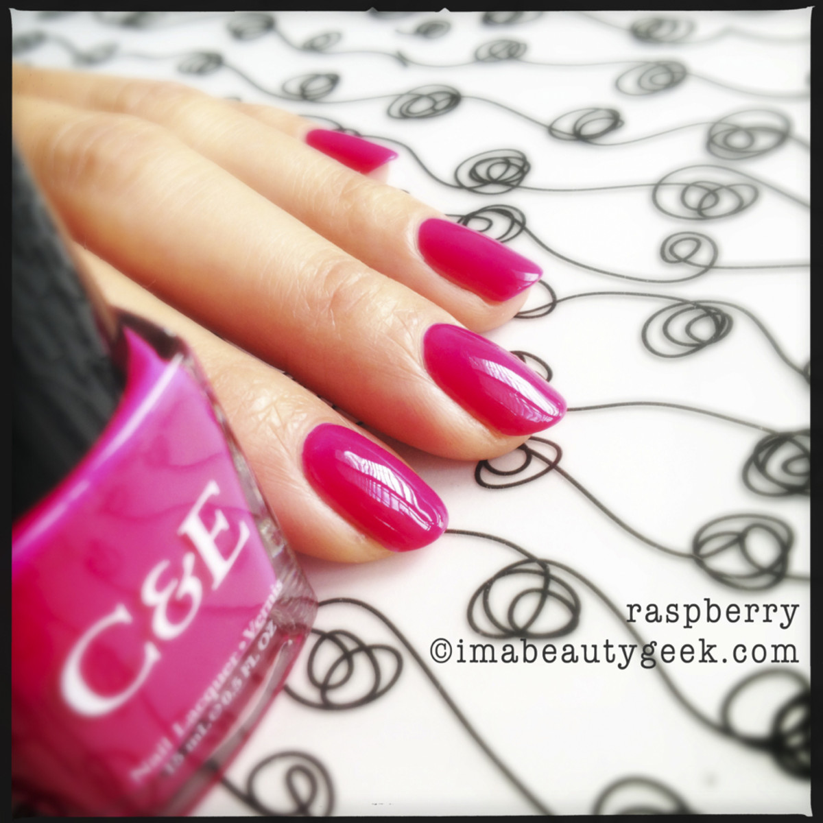 Crabtree & Evelyn Polish Raspberry
