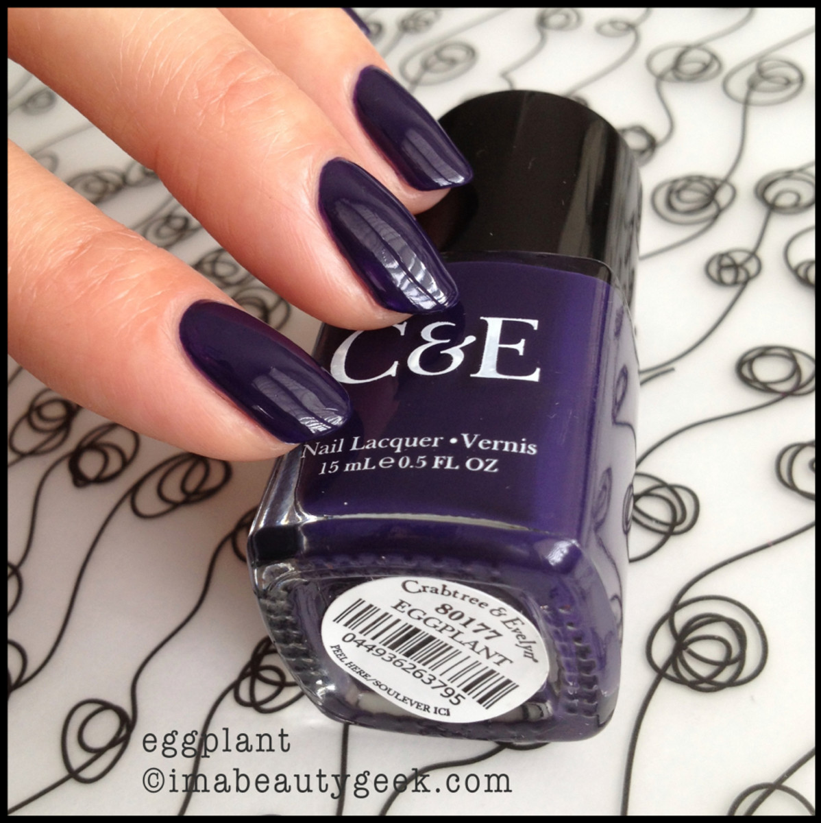 Crabtree & Evelyn Polish Eggplant