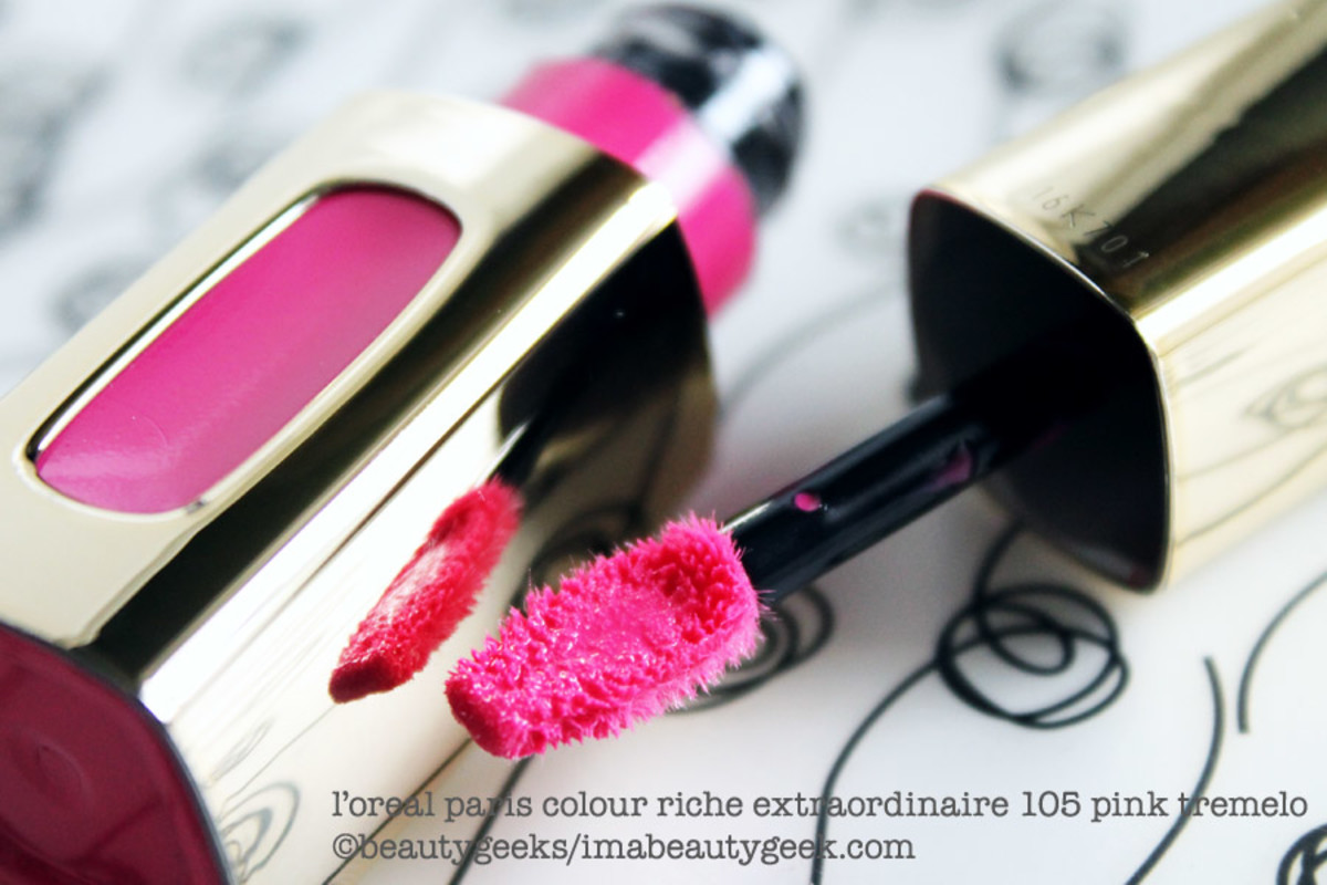 L'Oreal Colour Riche Extraordinaire 105 Pink Tremelo