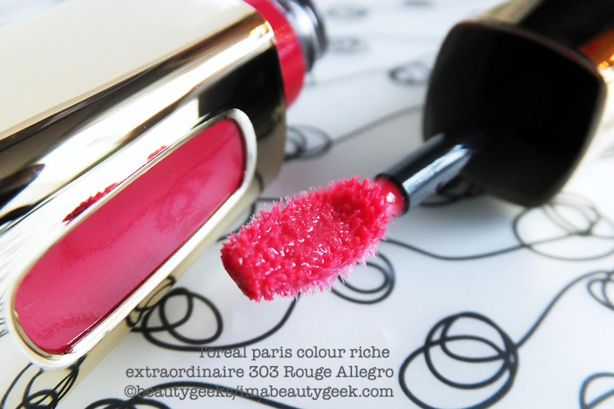 L'Oreal Colour Riche Extraordinaire 303 Rouge Allegro