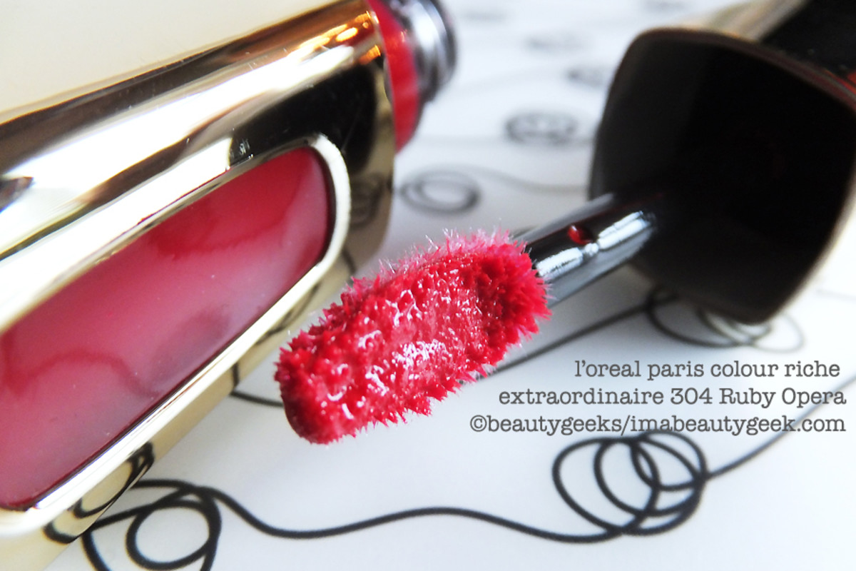 L'Oreal Colour Riche Extraordinaire 304 Ruby Opera