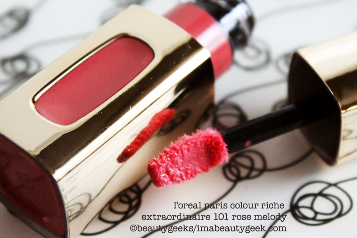 L'Oreal Colour Riche Extraordinaire 101 Rose Melody