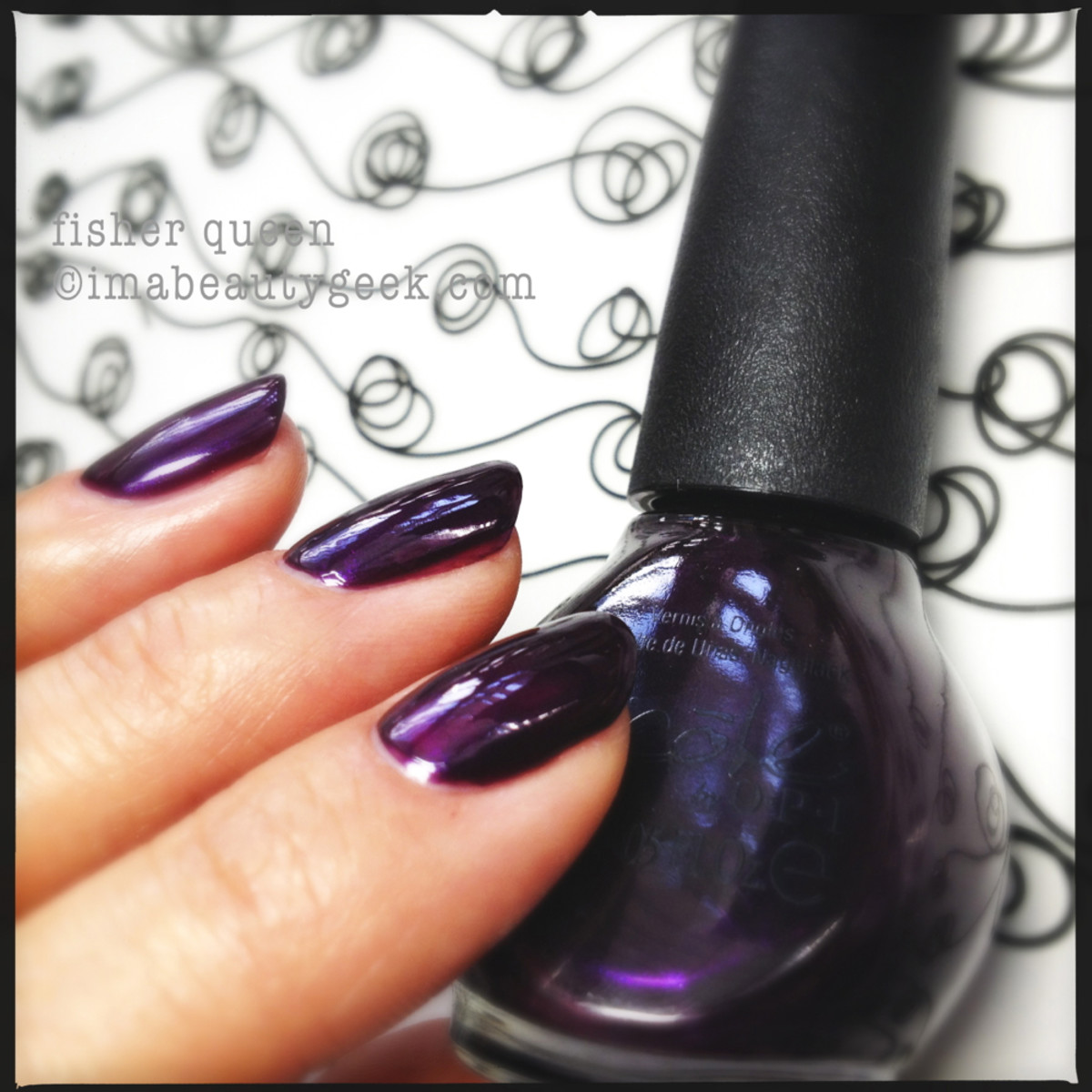 Nicole by OPI Carrie Underwood Fisher Queen