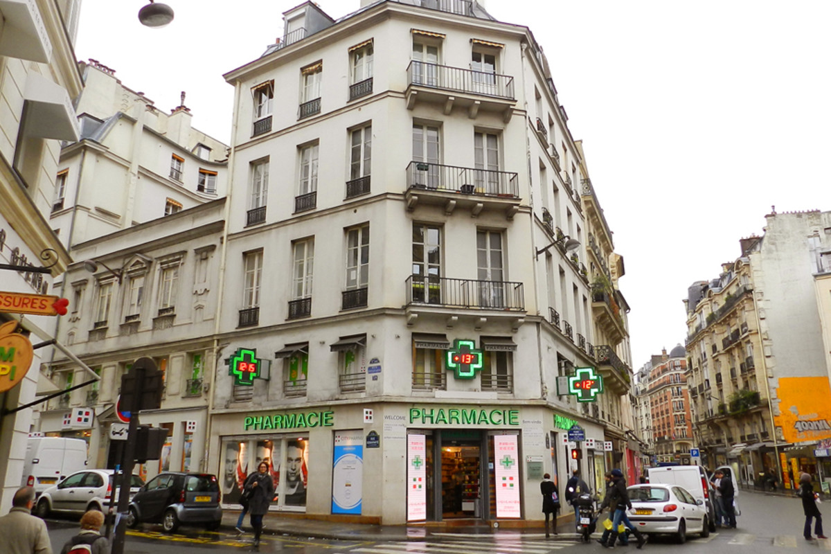 French pharmacy 2.0 city pharma paris