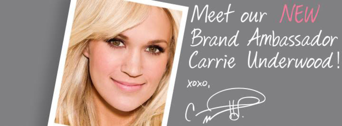 Carrie Underwood_Almay Facebook Page