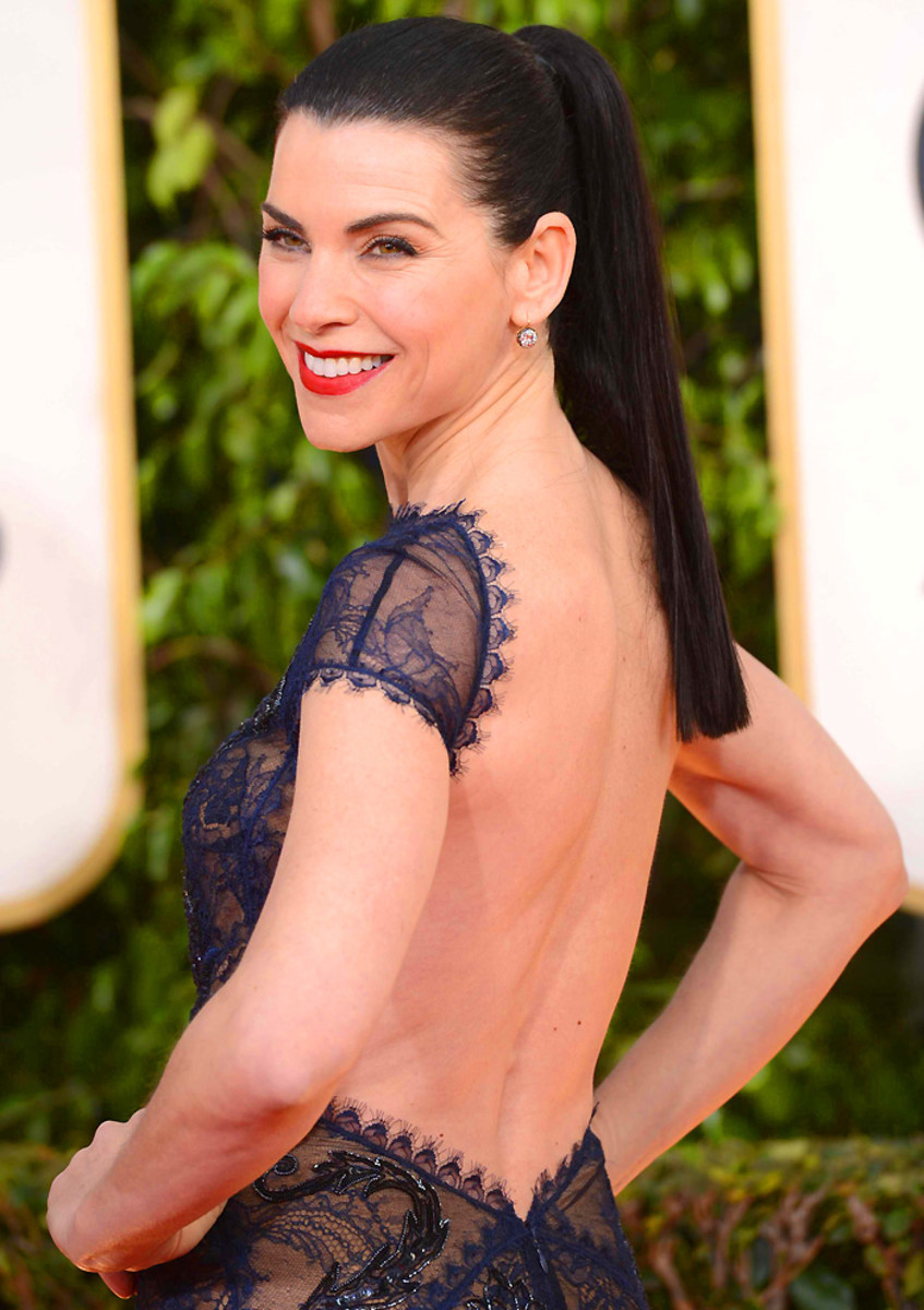 Julianna Margulies_Golden Globes 2013