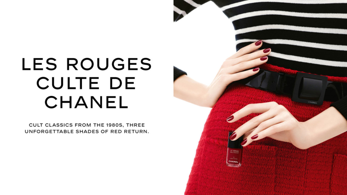 Chanel Les Rouges Culte Fall 2014