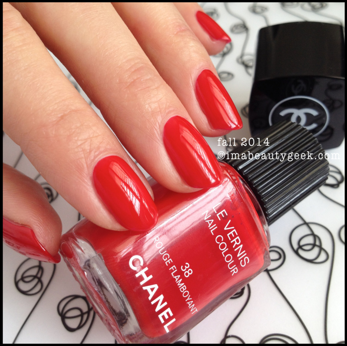 Chanel les rouges culte Rouge Flamboyant 38 Fall 2014 Beautygeeks