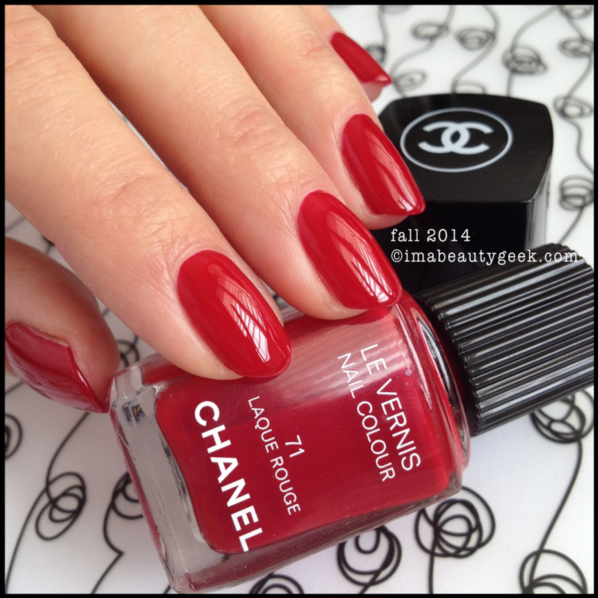 Chanel les rouges culte Laque Rouge 71 Fall 2014 Beautygeeks