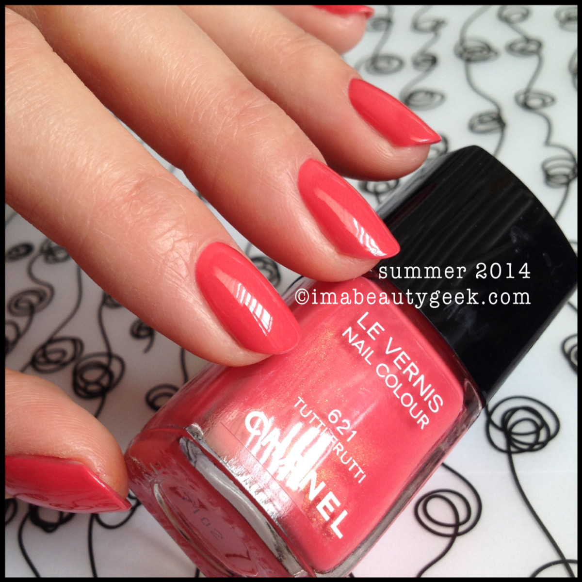 Chanel Tutti Frutti 621 Summer 2014