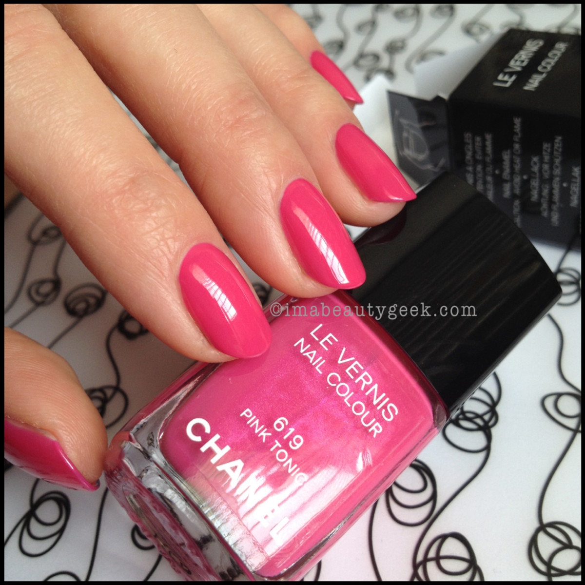 Chanel Summer 2014 Pink Tonic 619