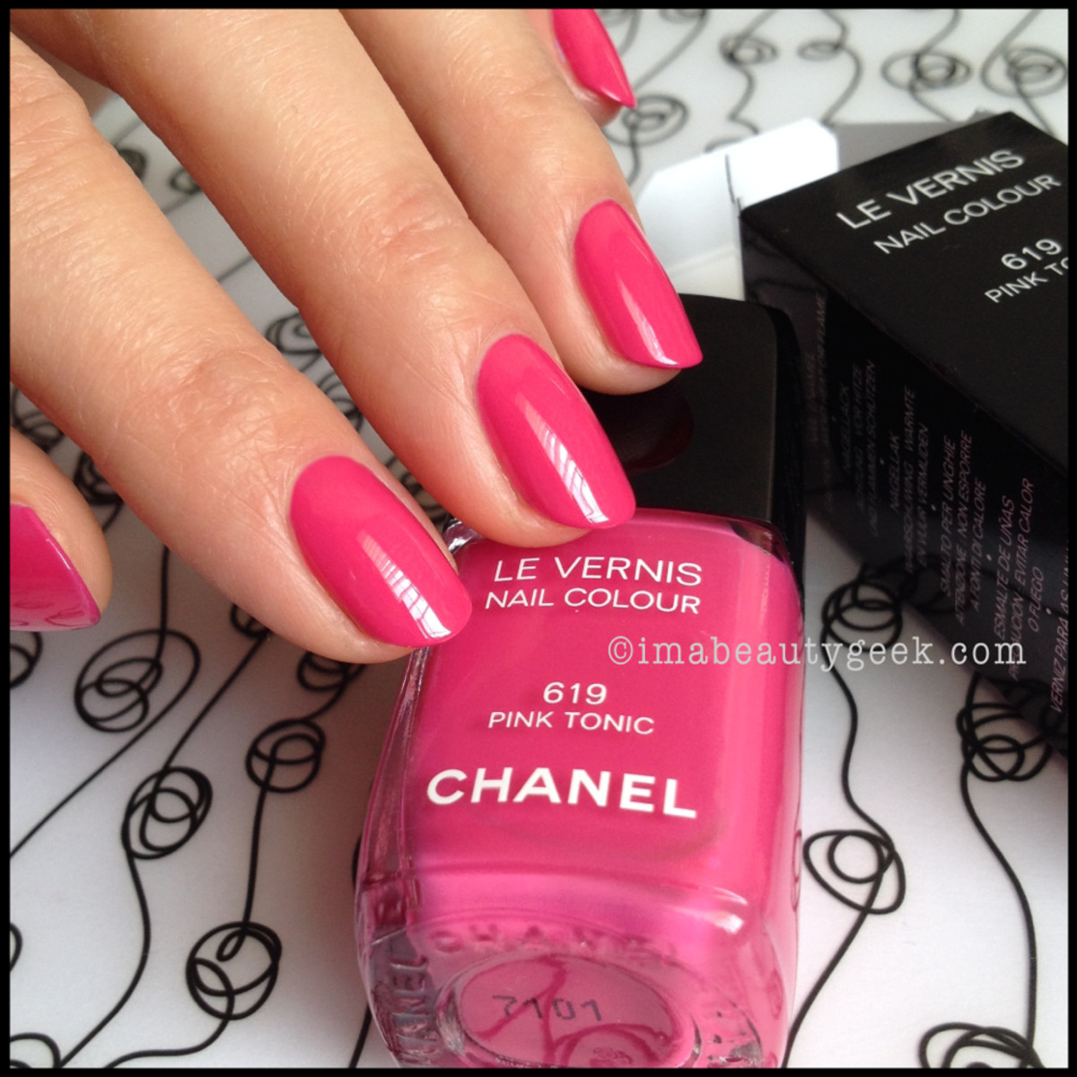 Chanel Pink Tonic 619 Summer 2014_1