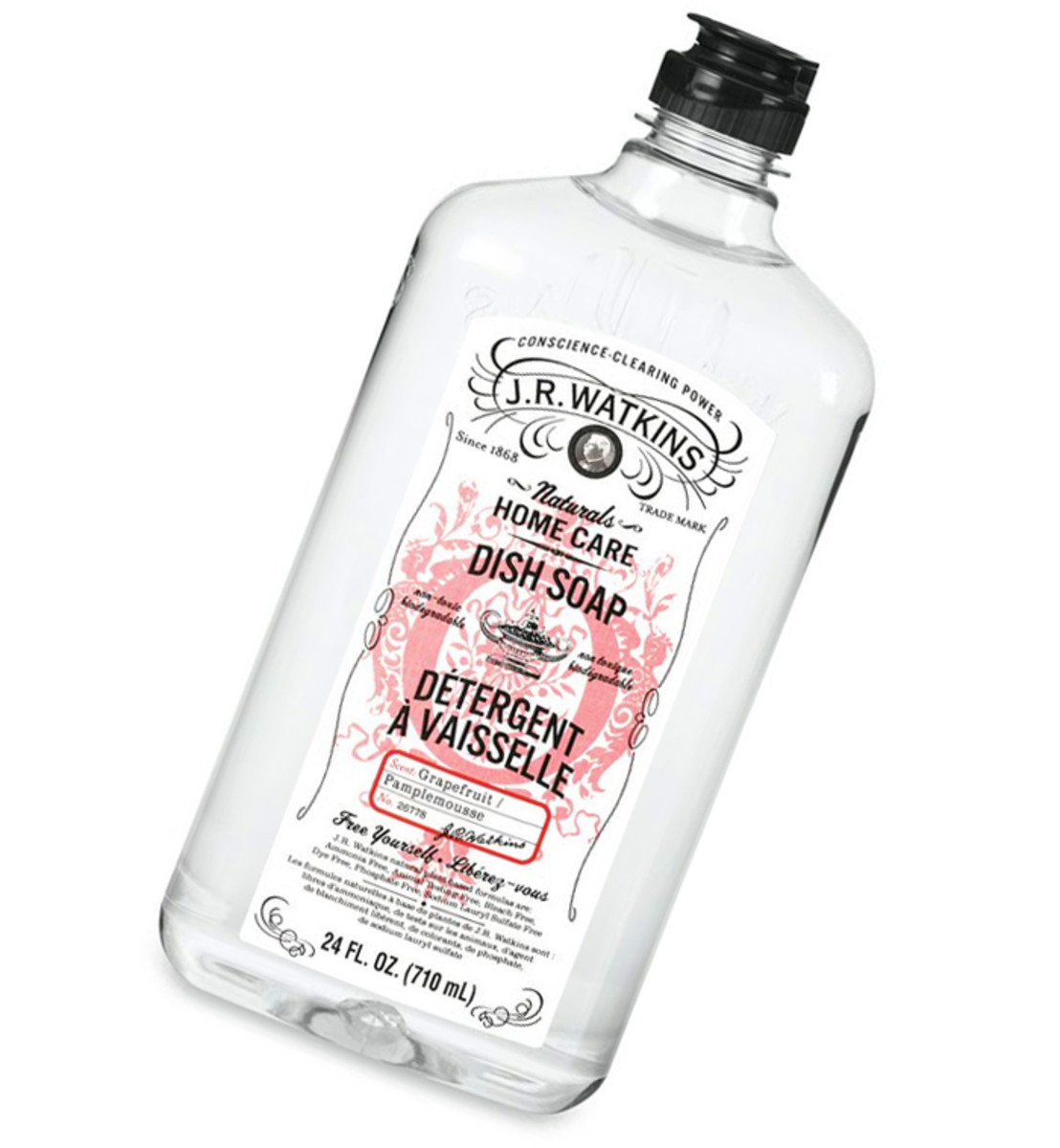 JR Watkins Dish Soap in Grapefruit scent