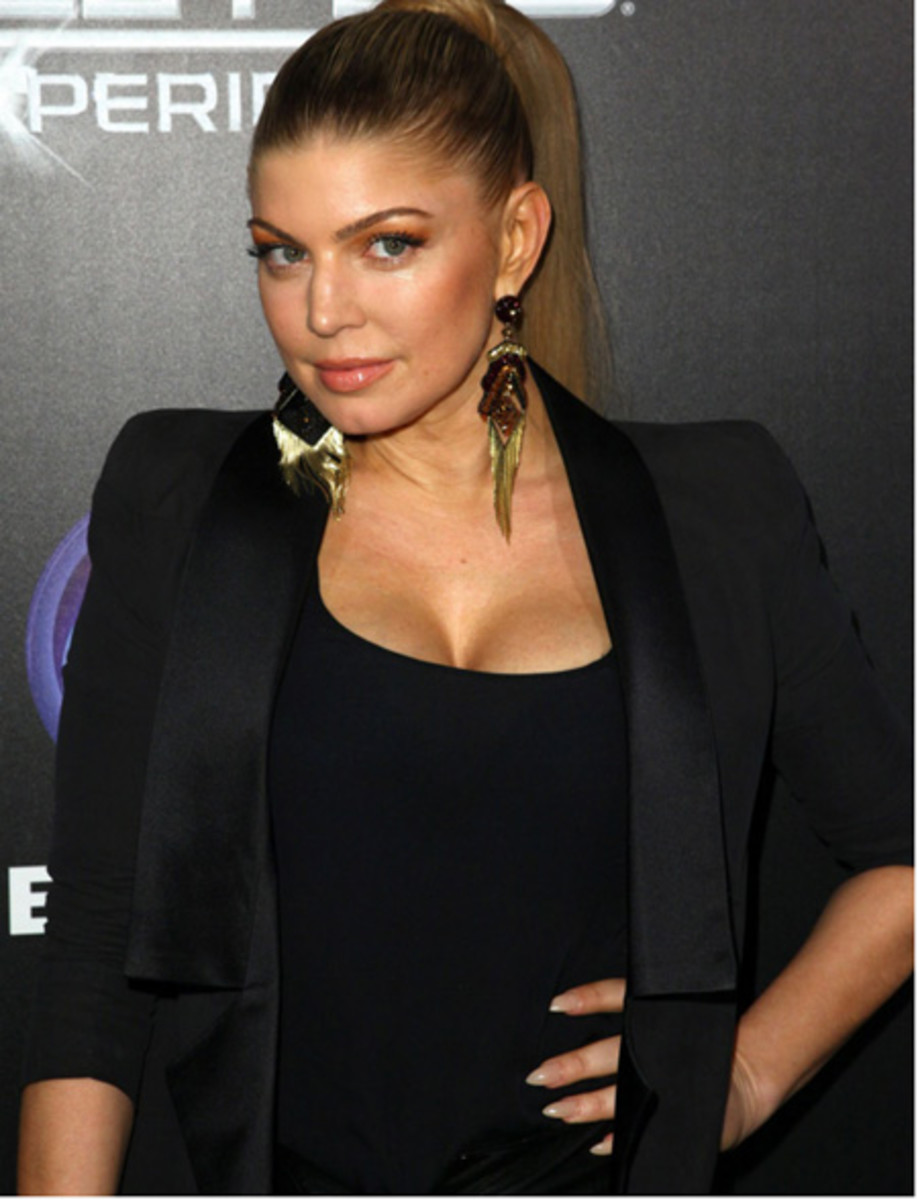 Fergie and her nails