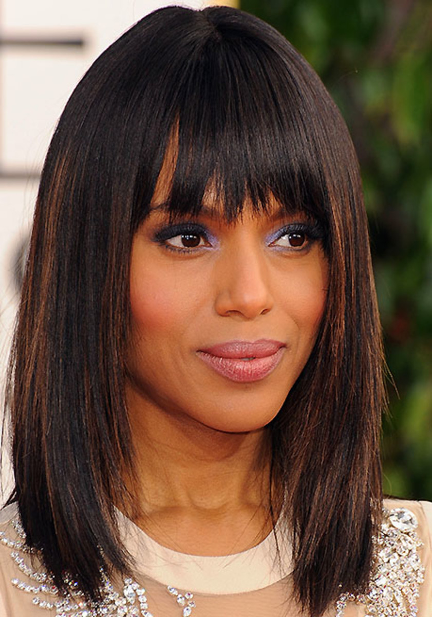Kerry Washington_Golden Globes 2013