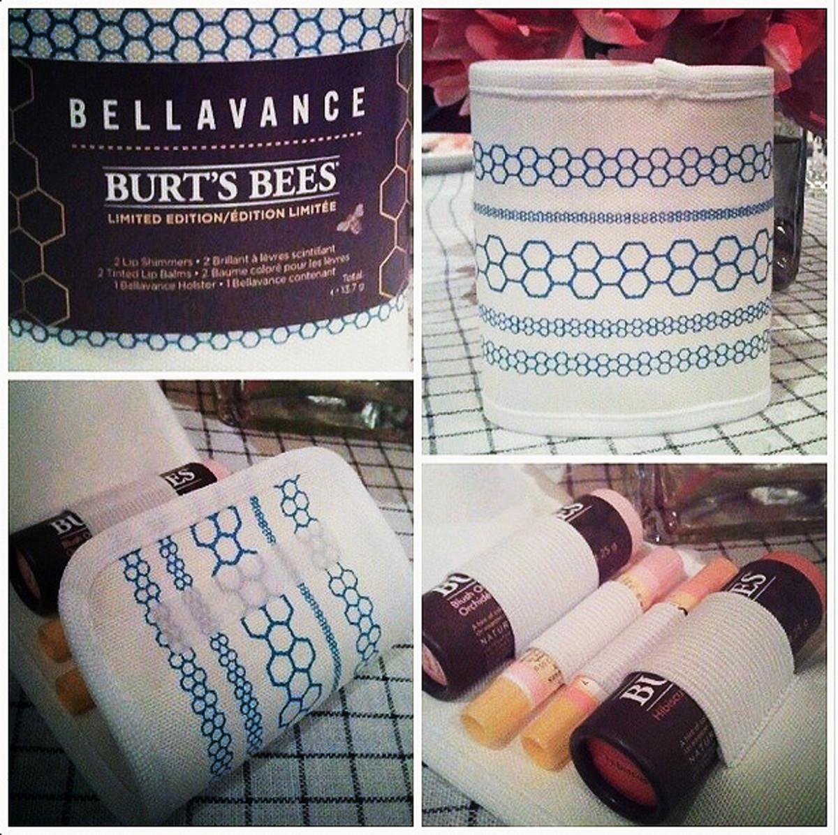 Bellavance Burt's Bees Limited Edition lip-balm roll