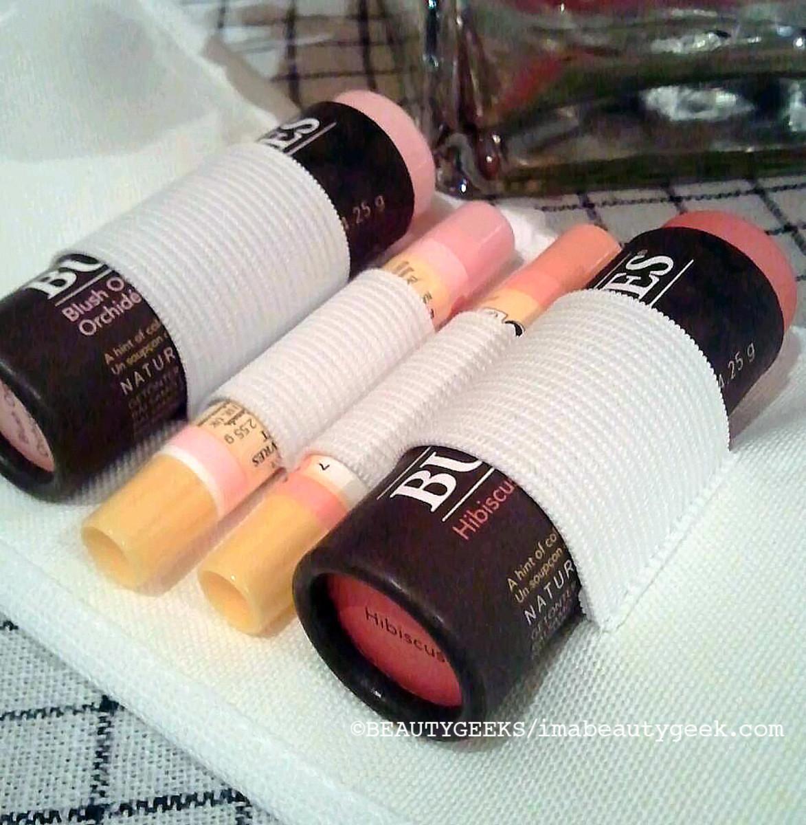 Bellavance Burt's Bees lip balm roll_open