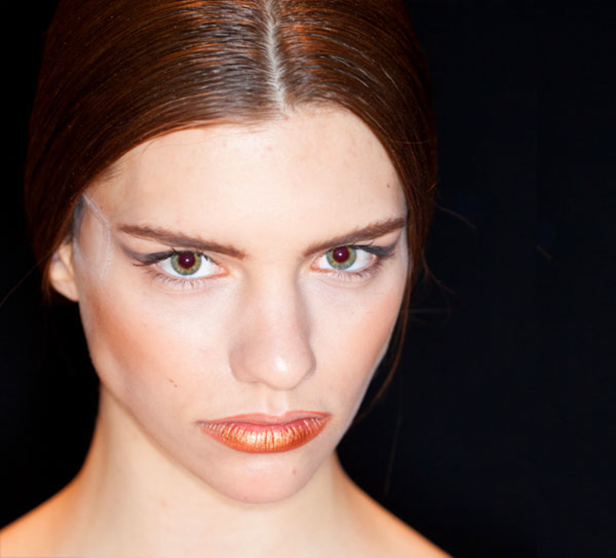 Fabulous MFW Backstage Beauty: Facelift Tape at Melissa Nepton - Beautygeeks #IY82