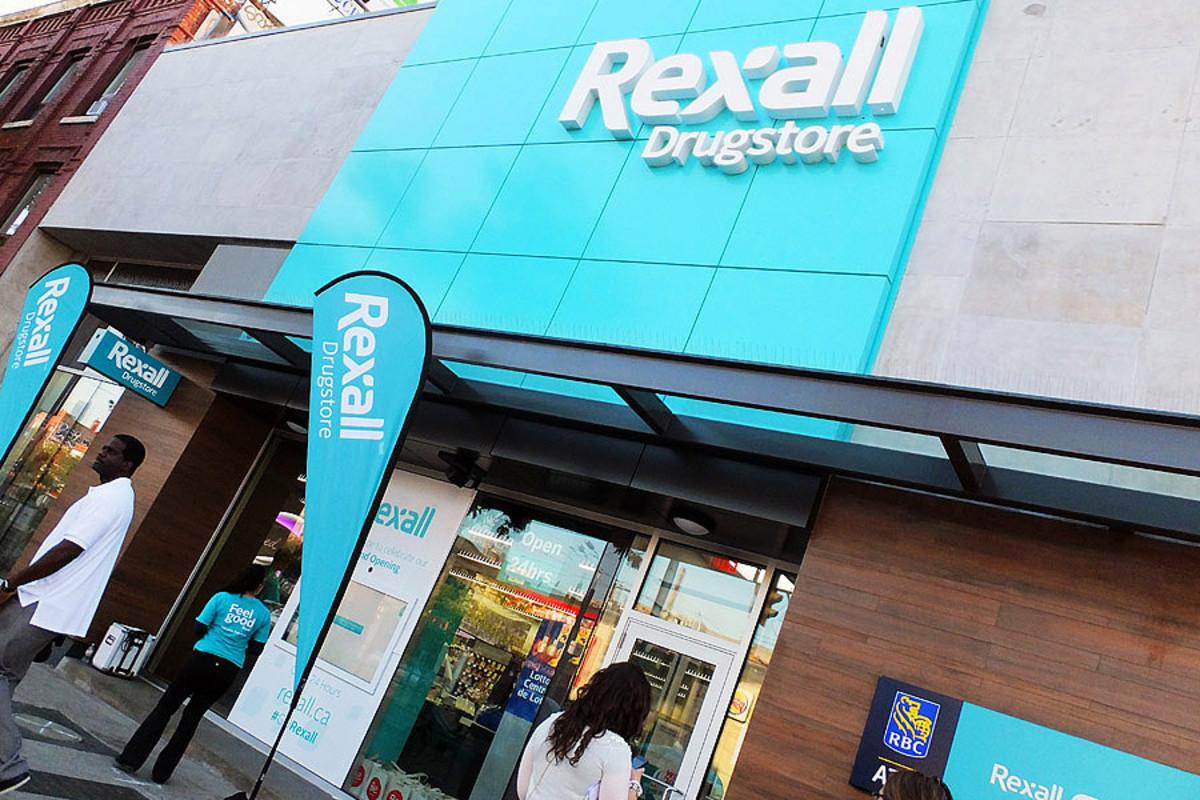 Rexall Drugstore Makeover_College & Spadina store