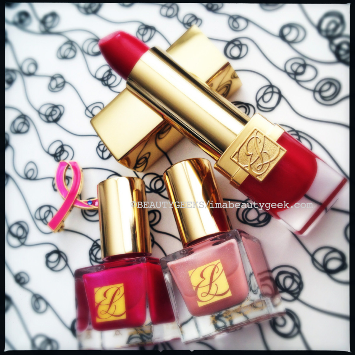 Estee Lauder Pure Color Lipstick in Dream Pink_Estee-Lauder-Dream-Pink-Collection-2014