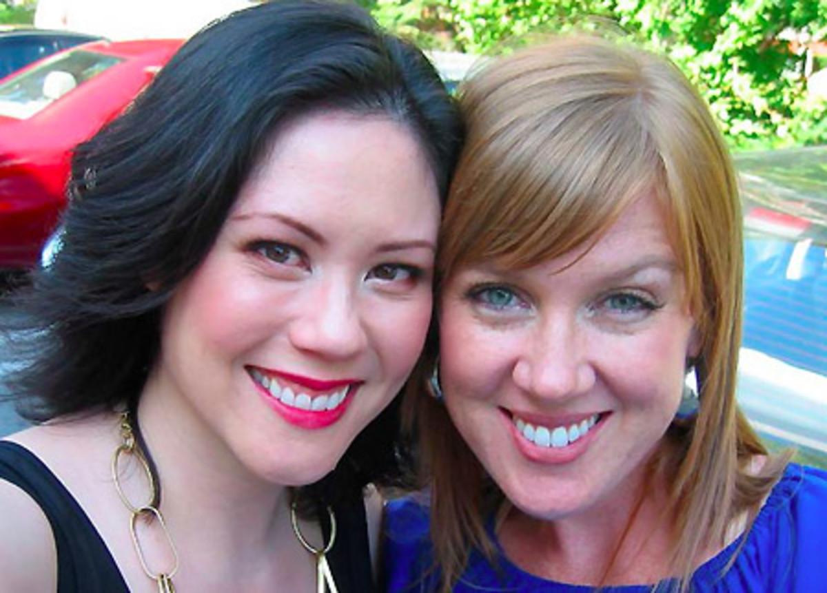 Janine Falcon_makeup pro Andrea Claire