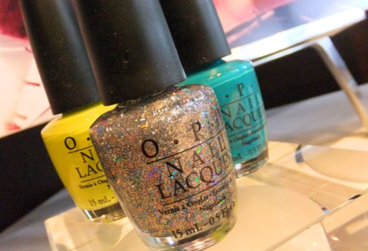 Nicki Minaj by OPI in Did It On 'Em, Save Me and Fly
