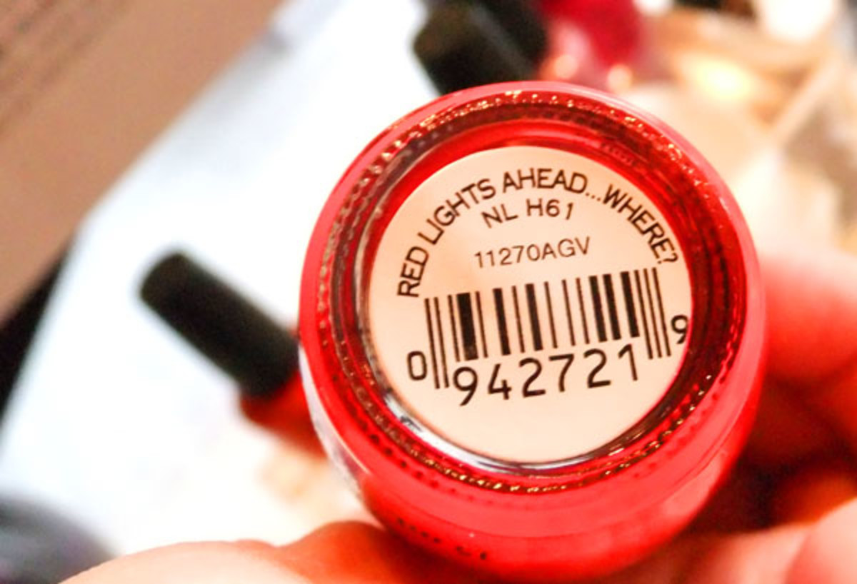 OPI Red Lights Ahead... Where?