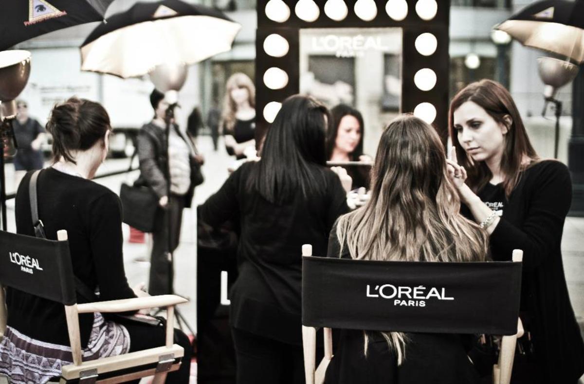 L'Oreal Paris makeup station TIFF 2011