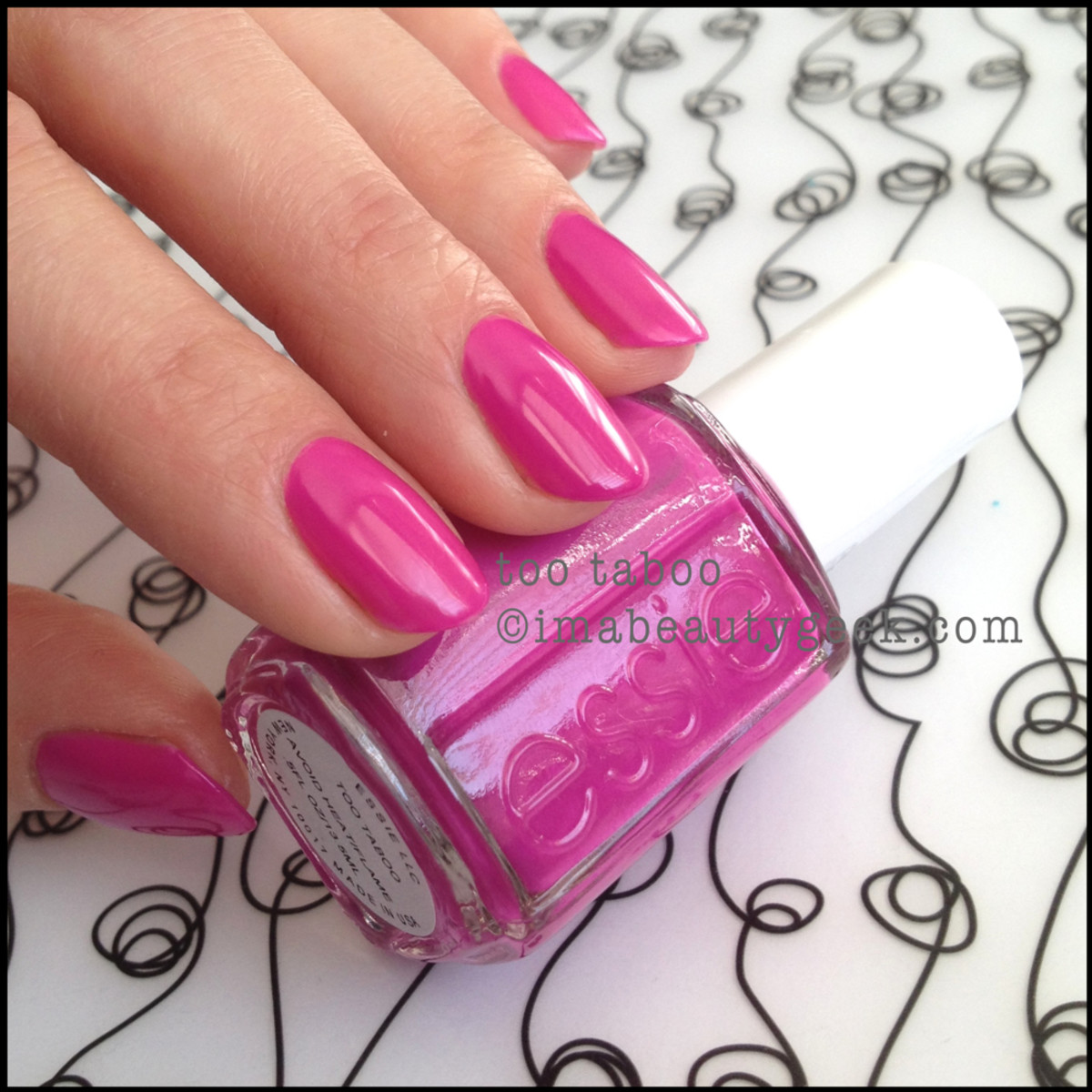 Essie Too Taboo_1 Neon 2014