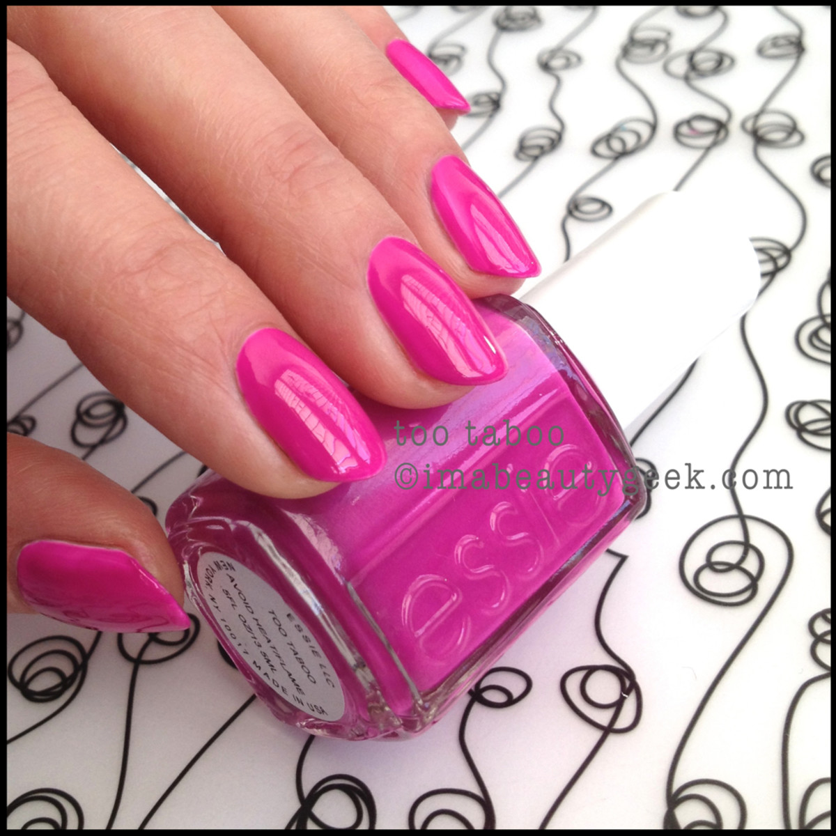 Essie Too Taboo_2 Neon 2014