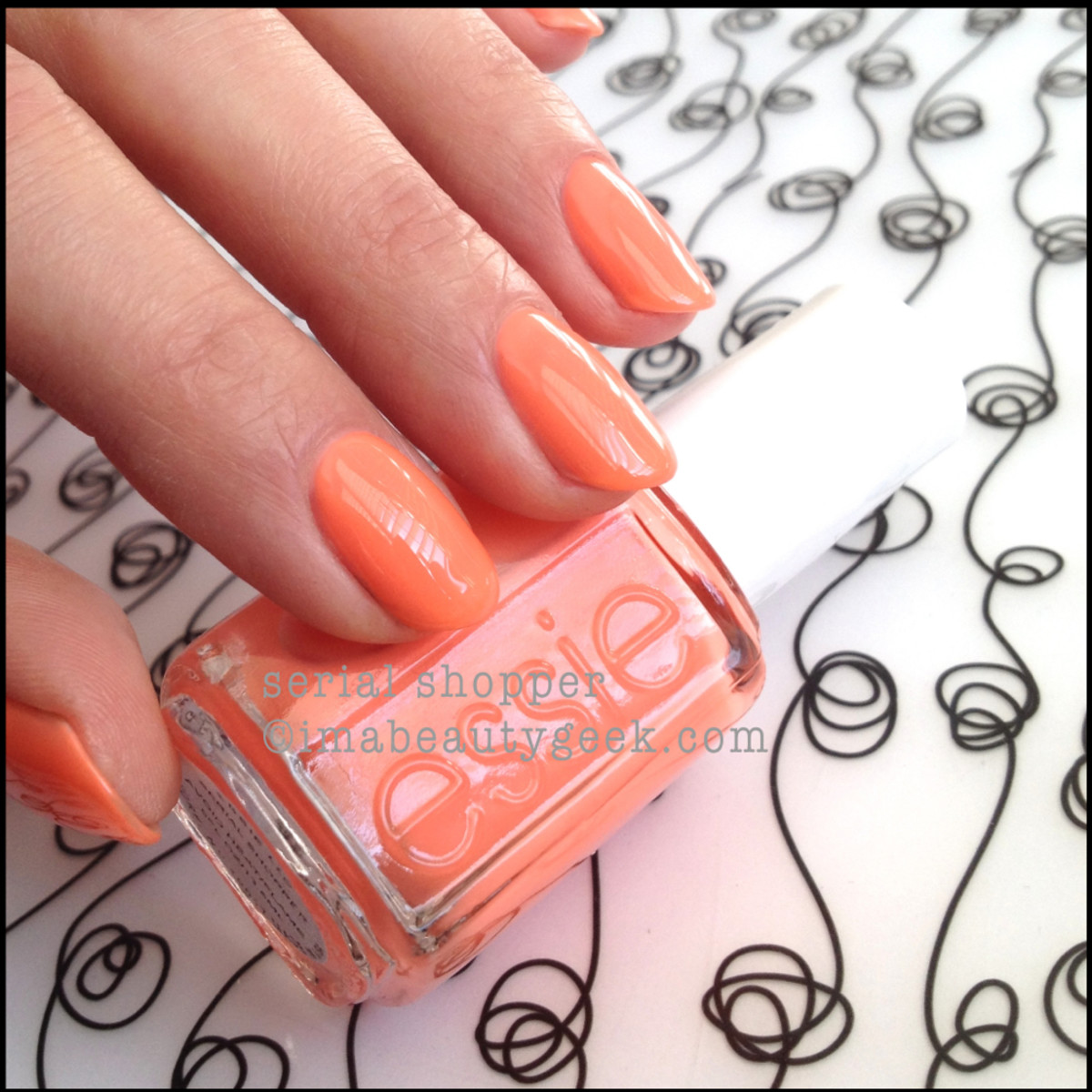 Essie Serial Shopper_1 Neon Too Taboo