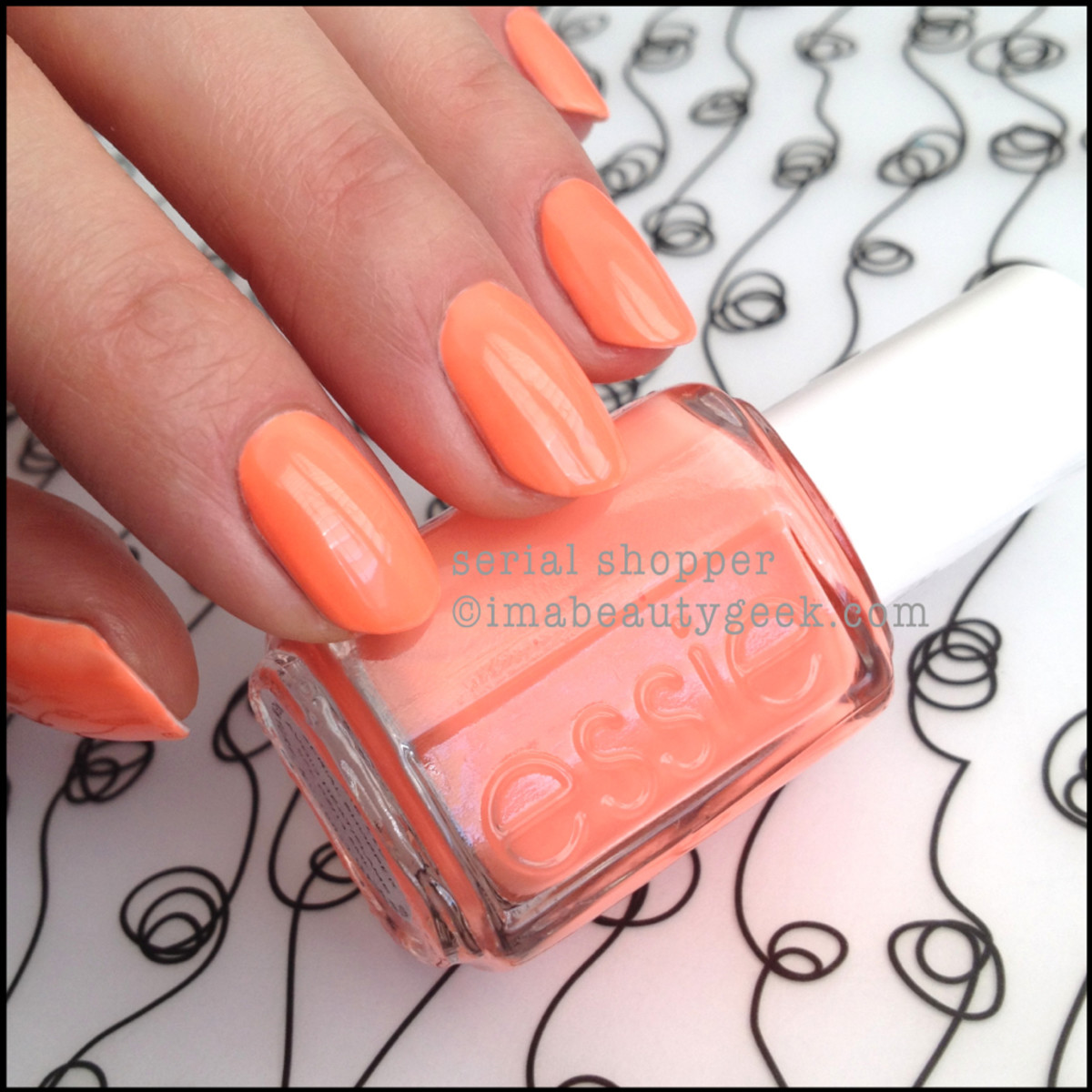Essie Serial Shopper_2 Neon Too Taboo 2014