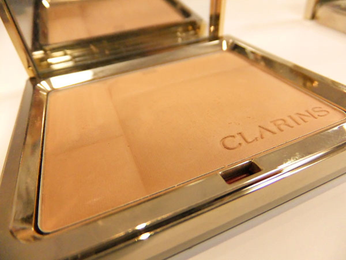 Clarins Ever Matte Shine Control Mineral Powder Compact_March 2012