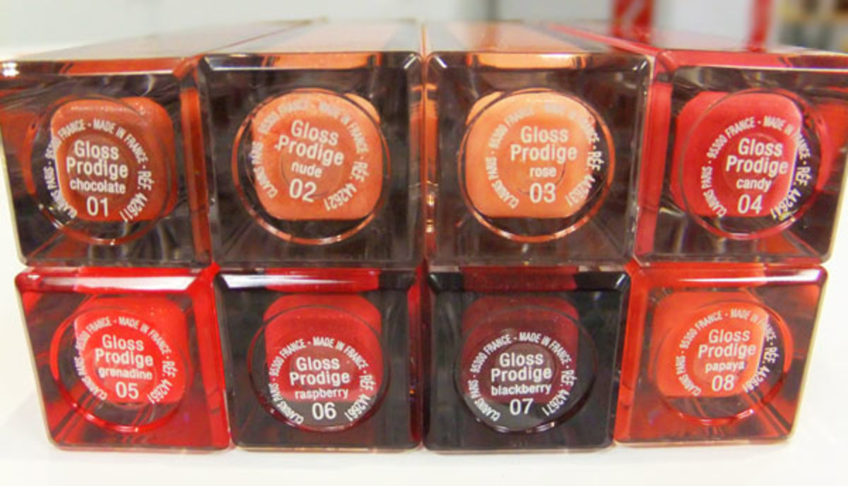 Clarins Gloss Prodige Intense Colour & Shine Lip Gloss_shades_February