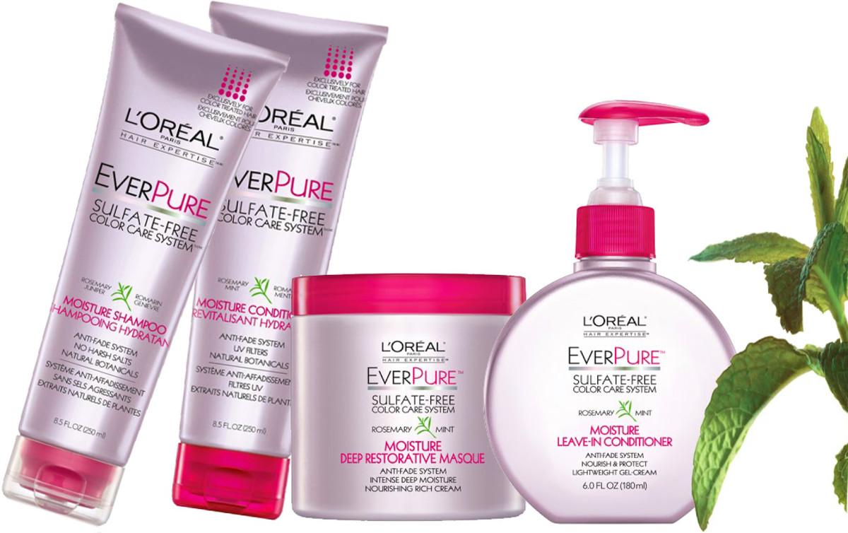 L'Oreal Paris EverPure Sulfate Free Color Care system