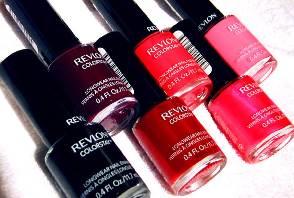 Revlon Colorstay Longwear Nail Enamel in Stiletto_Bold Sangria_Velvet Rope_Red Carpet_Wild Strawberry_and Passionate Pink_BEAUTYGEEKS_imabeautygeek.com.jpg