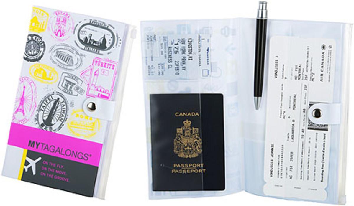 My Tagalongs - Identy-fly travel case