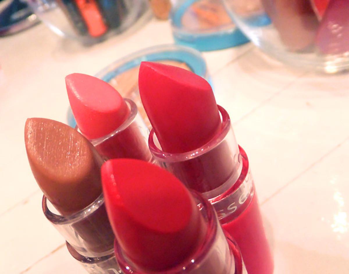 Essence lipsticks