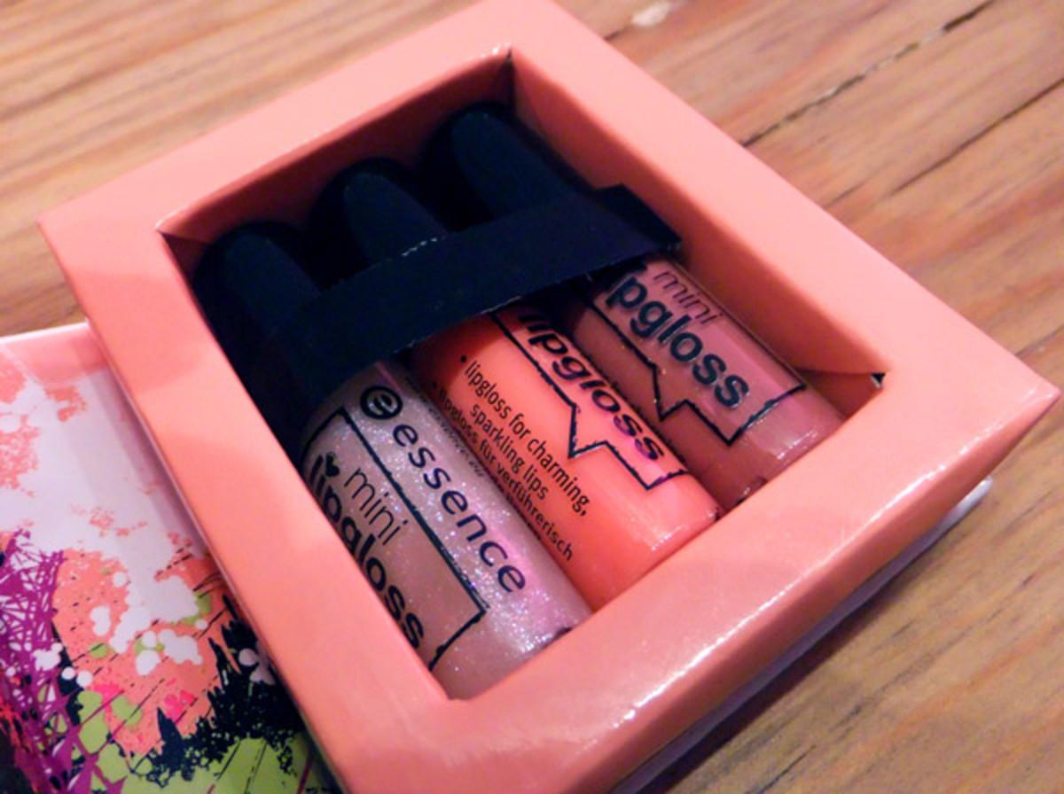Essence Mini Lipgloss Set
