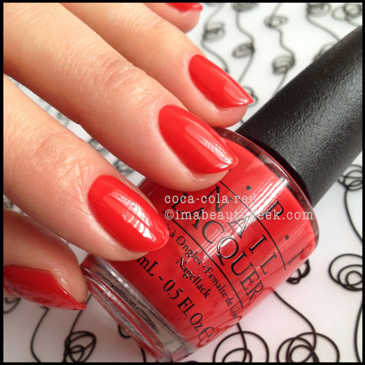 OPI Coca Cola Red OPI Coca Cola 2014