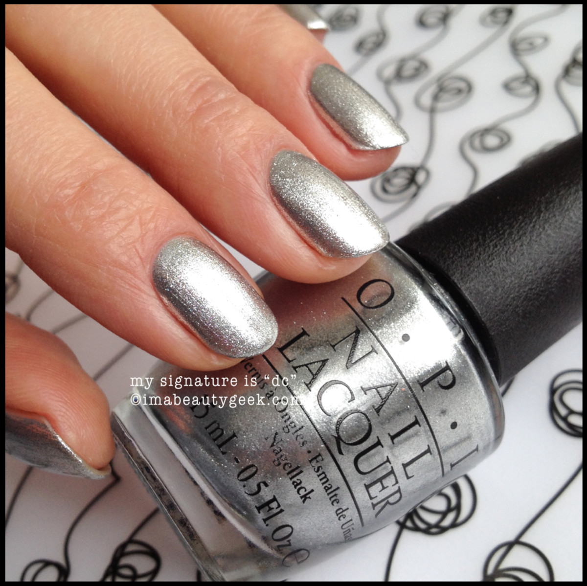 OPI My Signature is DC OPI Coca Cola 2014