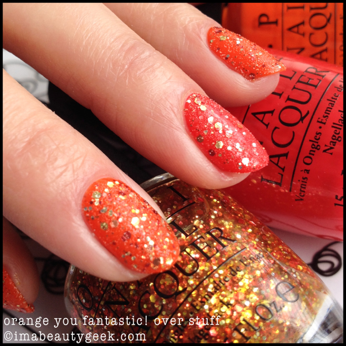 OPI Orange You Fantastic OPI Coca Cola 2014
