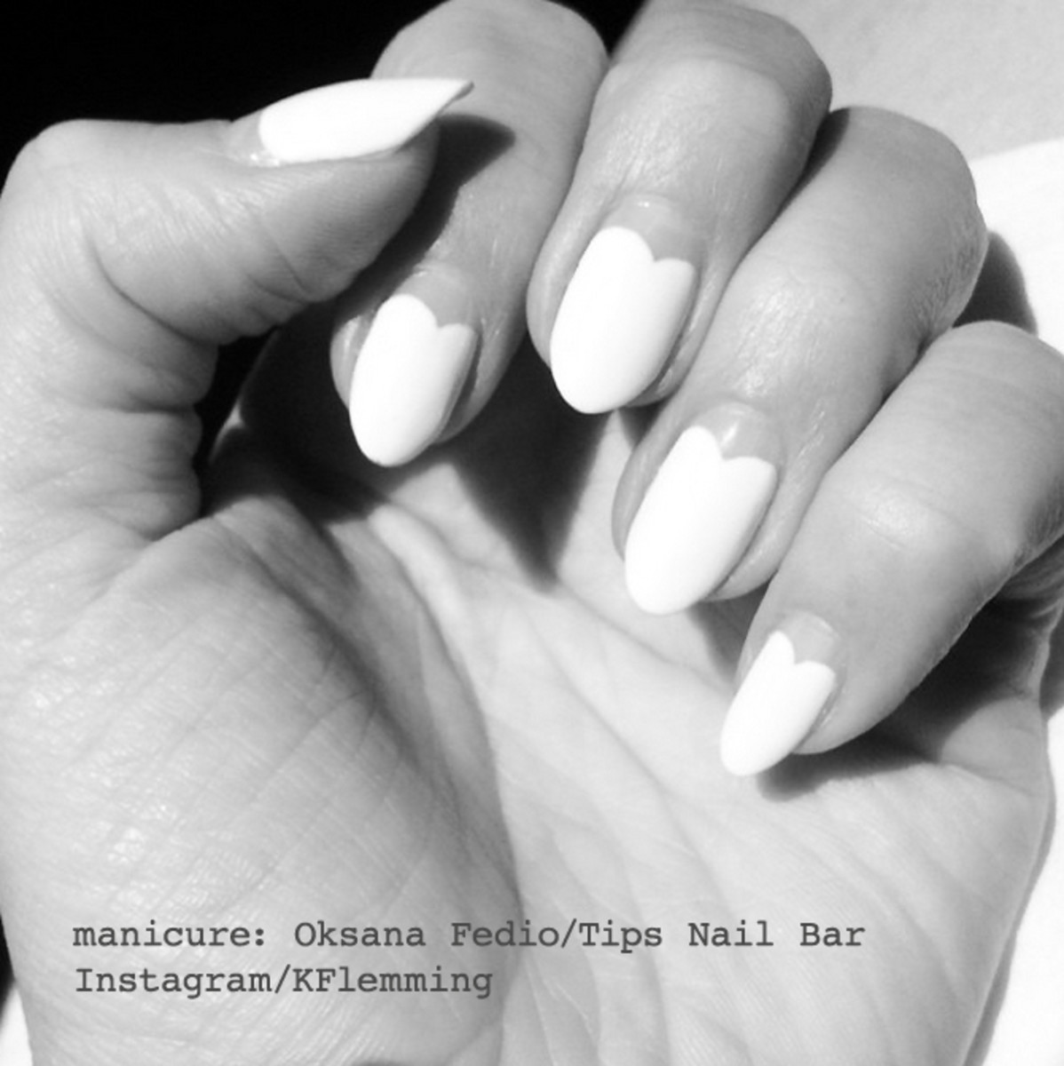 the scalloped manicure by Oksana Fedio_Instagram Katherine Flemming Elle Canada