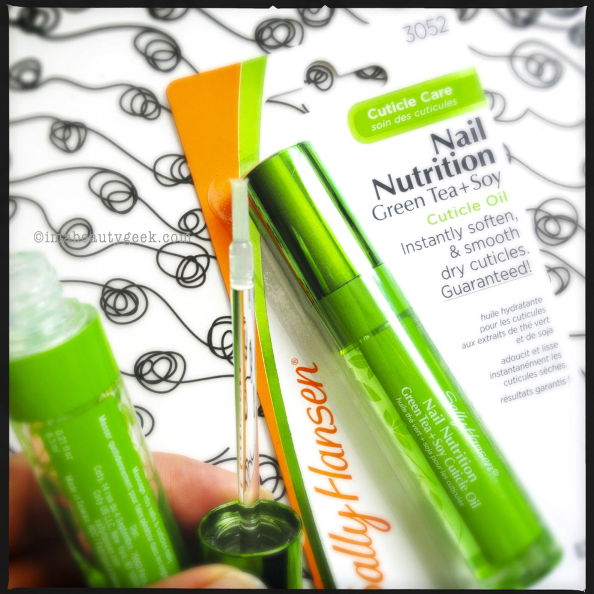 Sally Hansen Nail Nutrition Cuticle Oil - discontinued in 2014 - so sad... so so sad.