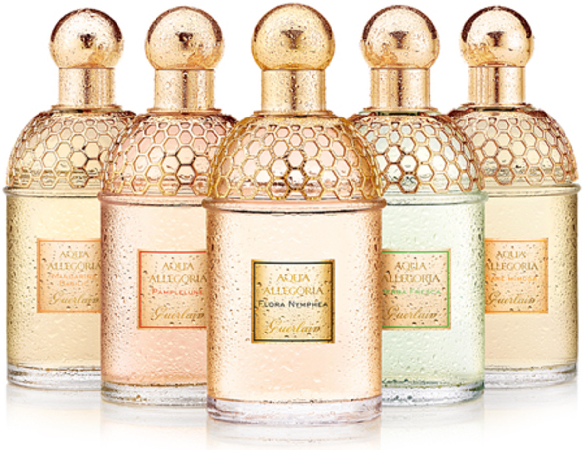 Guerlain Aqua Allegoria fragrances 2010