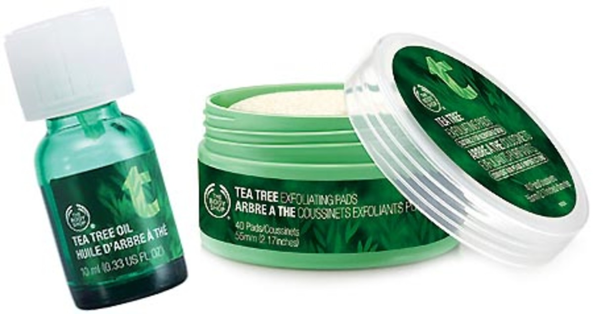 The Body Shop Tea Tree Oil_Tea Tree Oil Exfoliating Pads