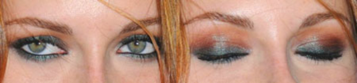 Kristin Stewart Smokey Eyes